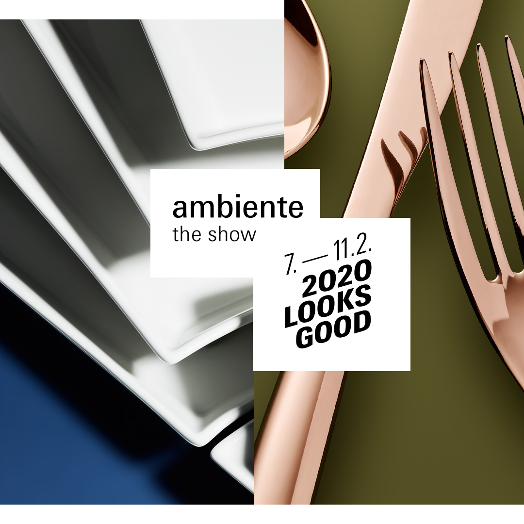 Ambiente 2020, Messe Frankfurt, Falling-Down Collection, Meng-Chan Yu